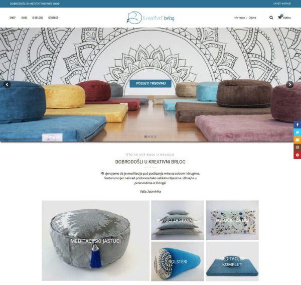 Web trgovina Kreativni brlog