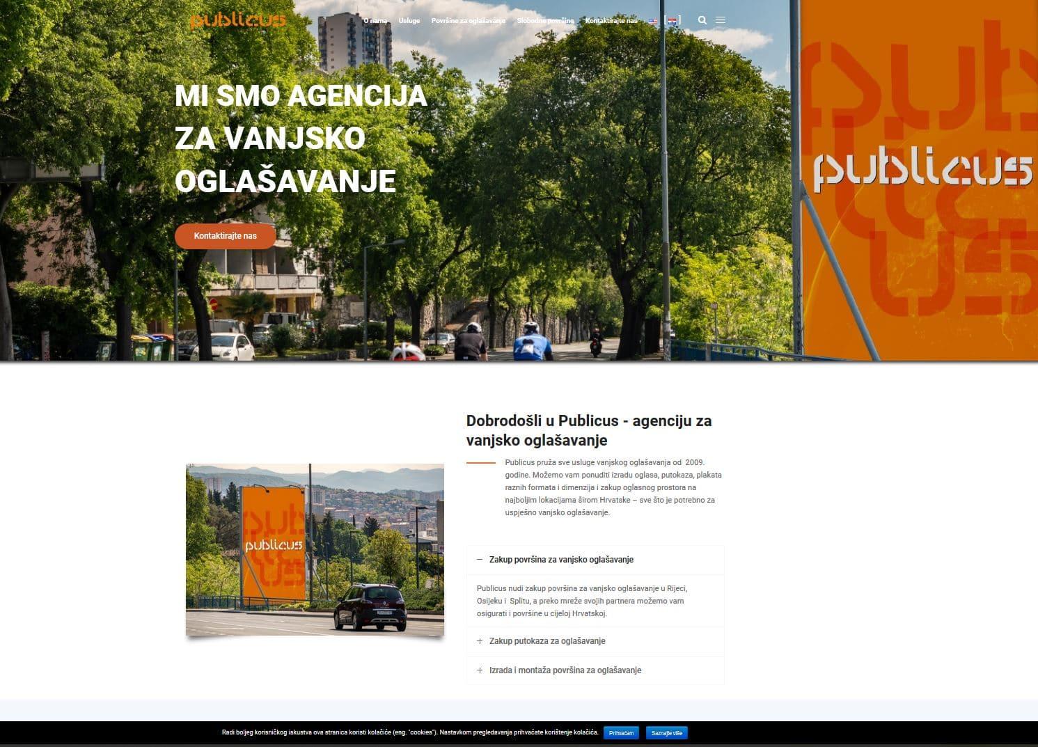 Web stranica Publicus.hr