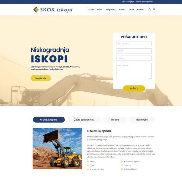 Web stranica skok.hr